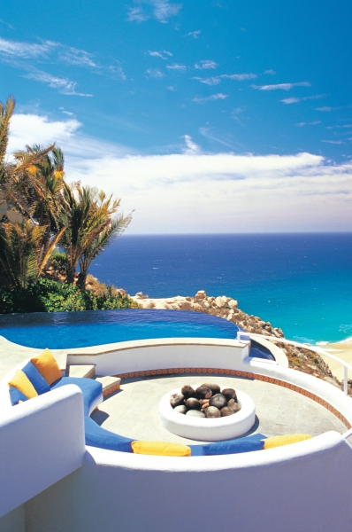 Infinity Pools and Fireplaces