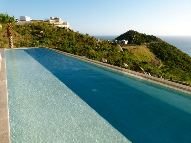 The Pool overlooking the Pacific Ocean