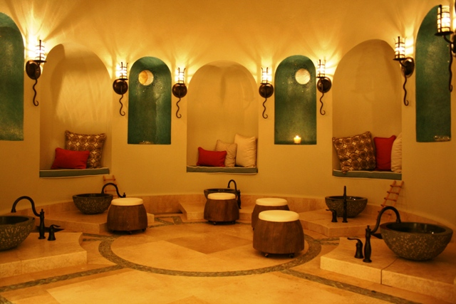 Auriga Spa at Capella Pedregal - entry area